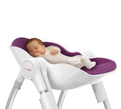 Oribel krzesełko do karmienia - funkcjonalne i wygodne