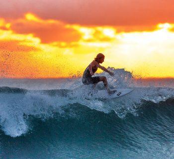 Surfing w Indonezji